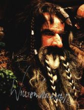William Kircher Autograph Signed Photo - Bifur